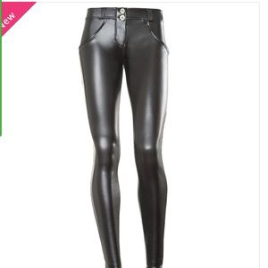 Freddy wr up eco leather pants mid waist